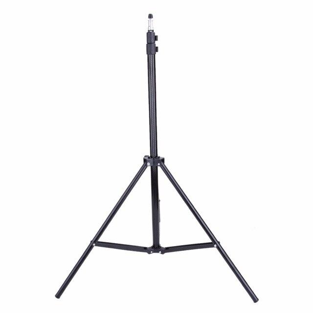 2 м Фото Свет Стенд штатив с 1/4 головки винта для вспышки видео зонтики отражатель освещение Фотостудия аксессуары