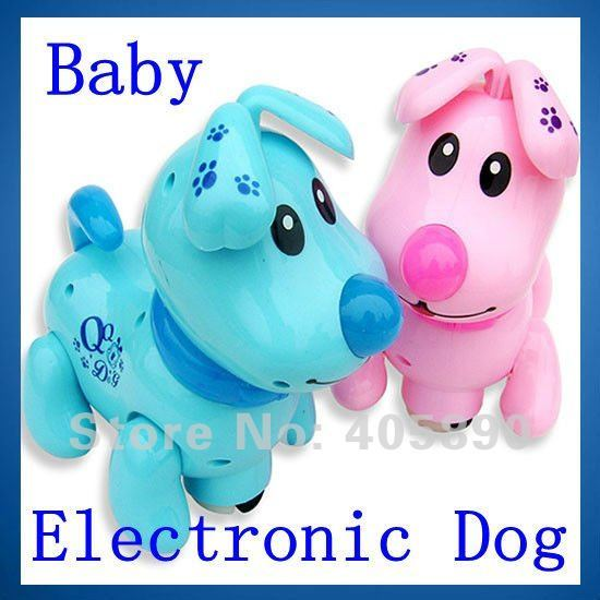 Baby Electronic Music Dog with Light Educational Toy