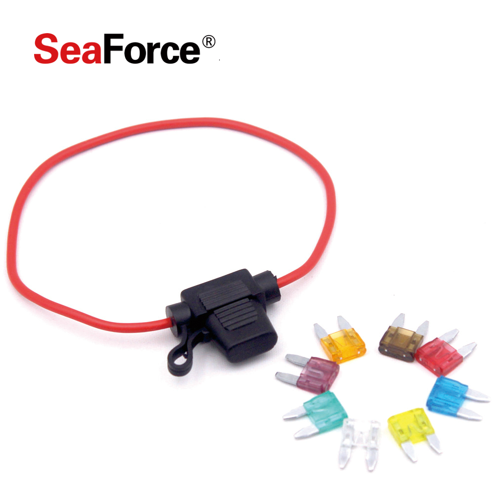 waterproof fuse box promotion shop for promotional waterproof fuse seaforce 2 pcs high temperature resistance rubber waterproof min fuse holder min fuses fit accurately car fuse box