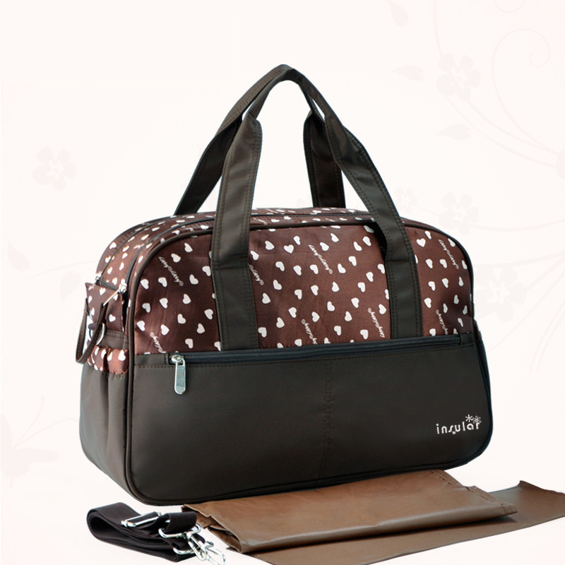 Waterproof Nylon Baby Diaper Bags Nappy Organizer Multifunction Shoulder Bag/Handbag For Mother Mommy Maternity Bag For Stroller