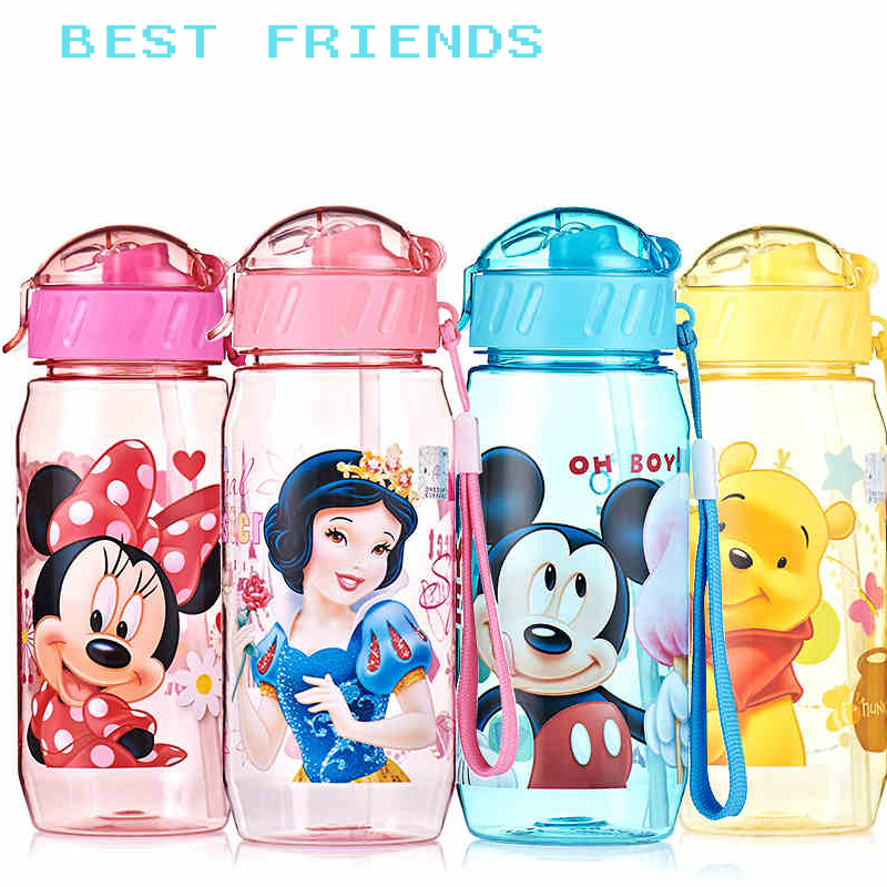 2016 Hot Sale 400ml Eco-friendly PP Kid Bickiepegs Baby Cups Cartoon Water Bottle Children Straw Bottle Kettle Sports Bottles ...