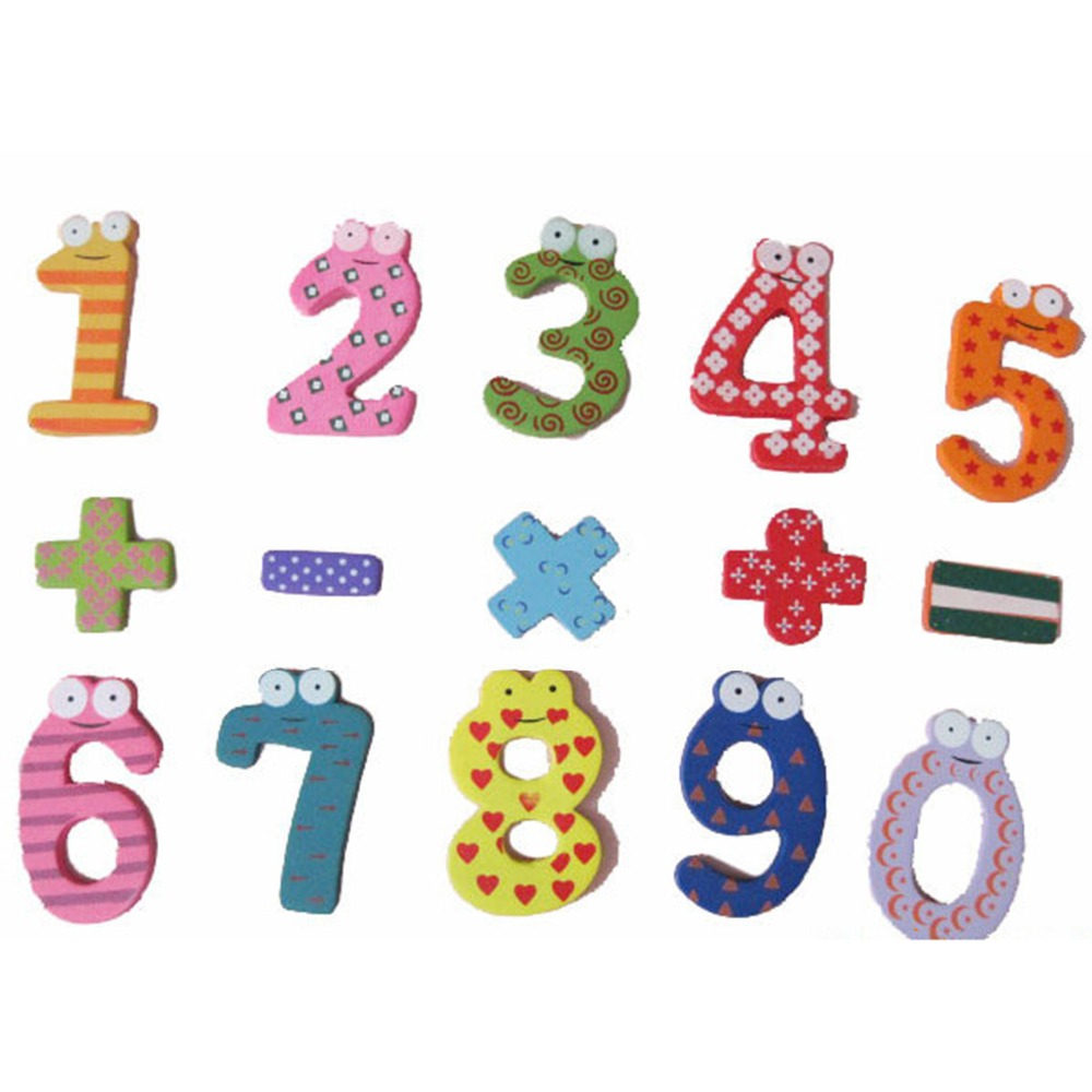 15pc/set Numbers Child Math Toy Education Learn Cute For