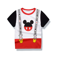 2017 Katefengwo Baby Boys Girls Cartoon Mickey T Shirts Clothes Toddler Kids Children Cartoon Anime T