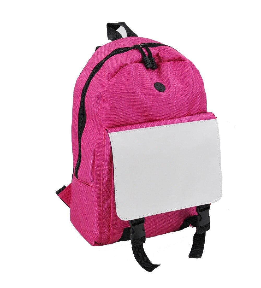 10pcs/lot wholesale Sublimation blank diy bag 2016 backpacks