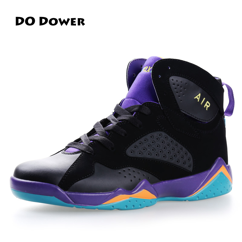 Do Dower Men's Basketball Shoes women Sports Sneakers lifestyle High Top Breathable Leather Shoes Men Outdoor Jordan Shoes do dower men running shoes lace up sports shoes lovers yeezys air outdoor breathable 350 boost sport sneakers women hot sale