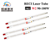 Reci W2 90W 100W CO2 Laser Tube Wooden Box Packing Length 1200mm Dia. 80mm CO2 Laser Engraving Cutting Machine S2 Z2