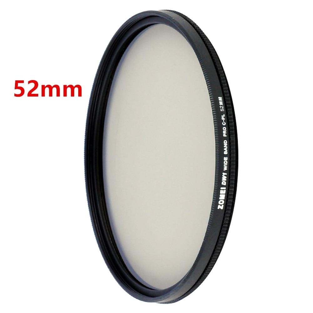 Zomei HD High Definition CPL Circular Polarizer Polarizing Filter for DSLR Camera Lens 49mm 52mm 58mm 62mm 67mm 77mm 82mm 5