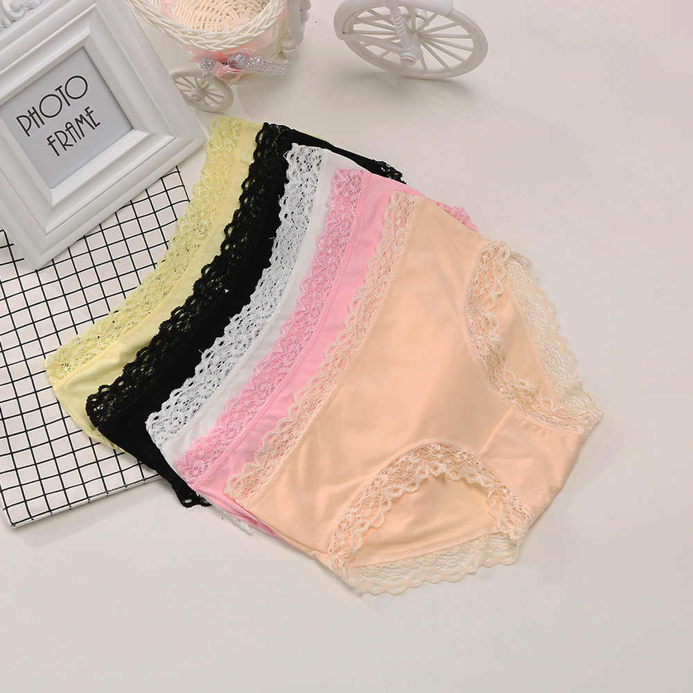 6b3d601e292 1PC New Arrival Sexy Women Modal Charcoal Underwear seamless Soft Panties  Briefs Knickers Big Stretch Lace