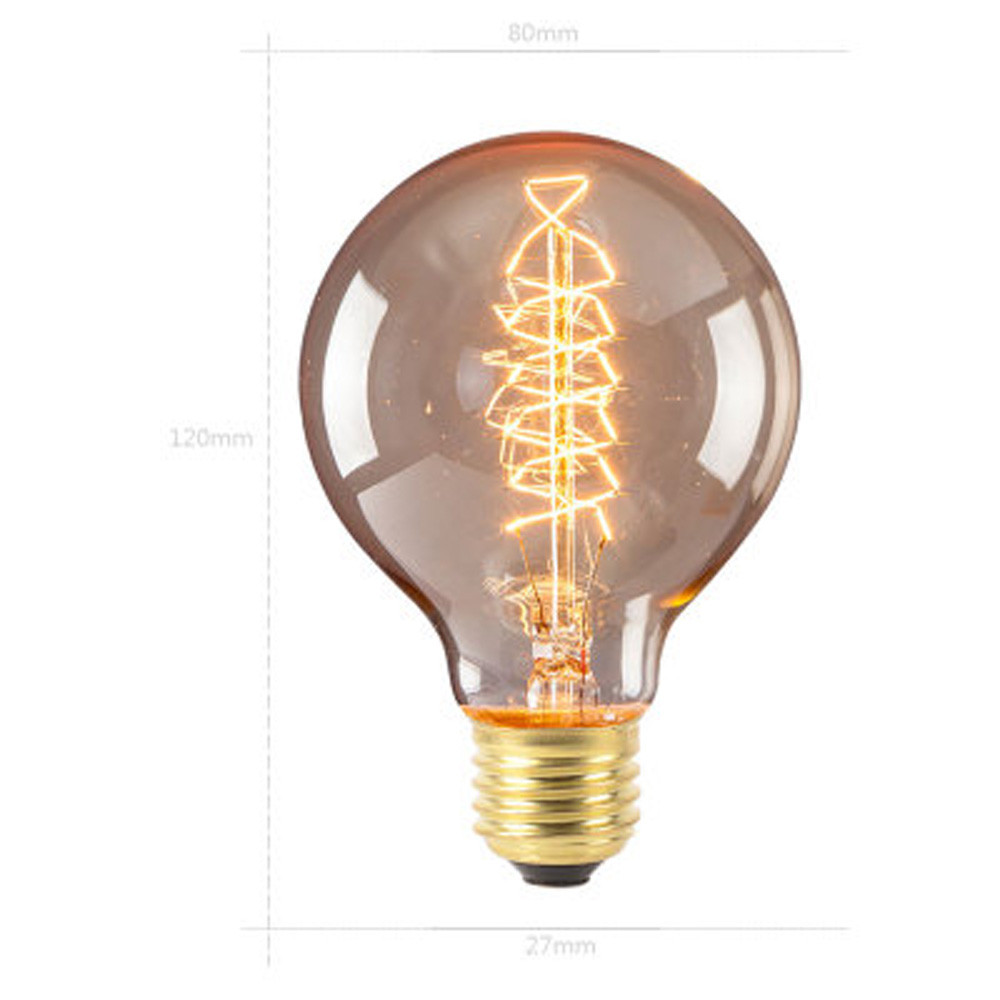 Edison bulb Light E27 40W 220V-240V Edison Bulb Retro Lamp Vintage Light Bulb Christmas vintage Incandescent bulb home decor