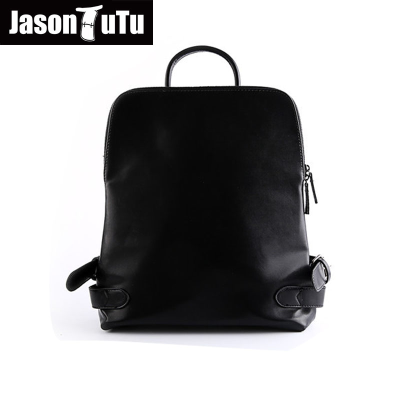 JASON TUTU men backpack Good quality Black PU Leather Backpack School bags for Teenagers Laptop Backpack Mochila Masculina B312 2017 new men women laptop backpack mochila masculina high quality nylon men s backpacks backpack for teenagers men s travel bags
