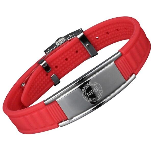 Bracelet homme en silicone