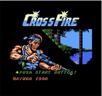 Cross Fire - 16 bit MD Games Cartridge For MegaDrive Genesis console