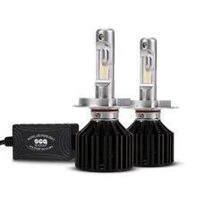 Sealight H4 светодиодные фары автомобиля стайлинга автомобилей 90 Вт 12000LM 9003 HB2 авто фары Hi/lo пучка Лампа Комплект 6000 К белый Заменить Xenon