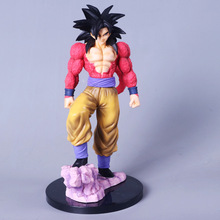 26cm Dragon Ball Z Super Saiyan 4 Son Goku SS4 PVC Action Figure Toy