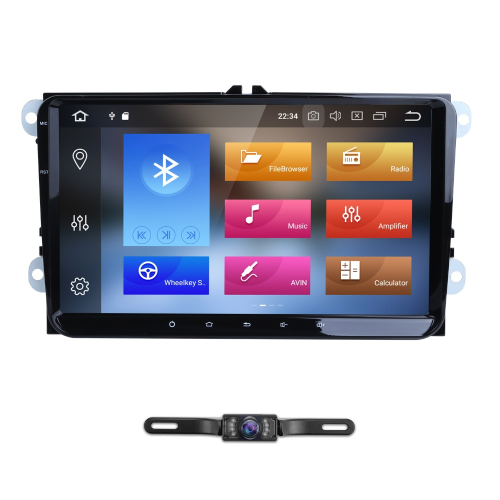 Android 8 0 8Octa core 9 inch 2 din 4G 32G GPS car radio player for