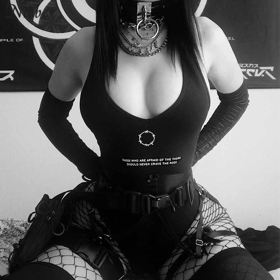 Nibber, сексуальные черные боди в готическом стиле панк, женские, летние, модные, вечерние, для ночного клуба, с низким вырезом, без рукавов, хлопковые боди, mujer