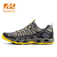 Merrto 2016 Mens Breathable Mesh Running Shoes Lightweight Trail Running Trainers Men Sports Shoes Outdoor Sports