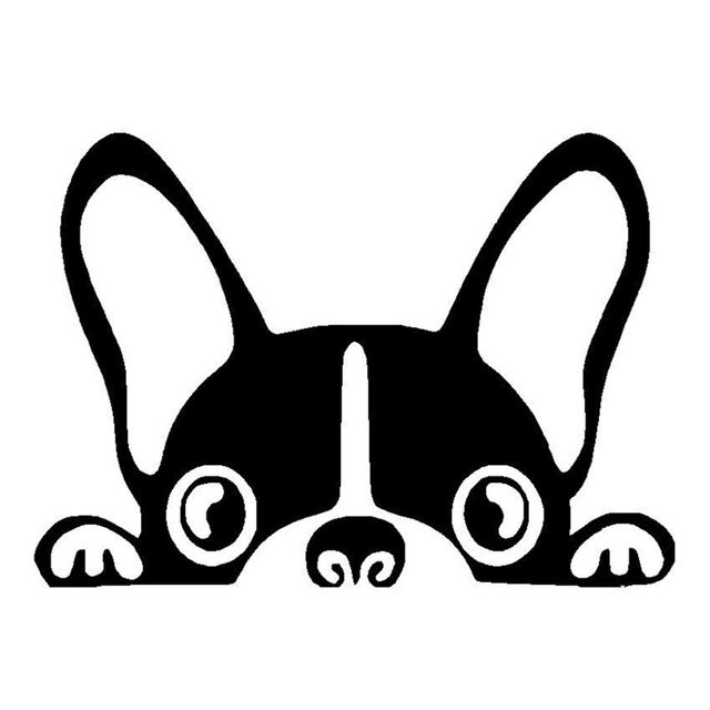15 210 8cm boston terrier dog animali funny car stickers exterior accessories car styling decal