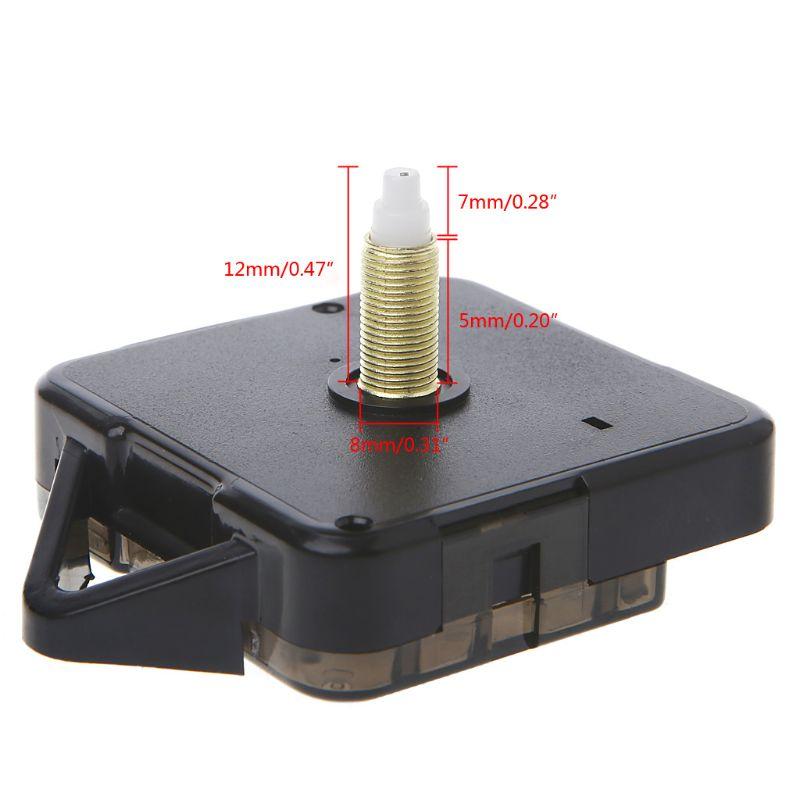 Кварцевые часы механизм движения руки стены ремонт инструмент запчасти бесшумный комплект DIY 7