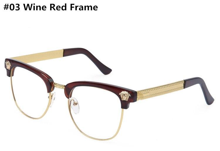 12996f5d65 New 2015 Trendy Men Fashion Women Anti Radiation Protection Semi Rimless  Eyeglasses Computer Optical Glasses Brand for Men Women-in Sunglasses from  Apparel ...