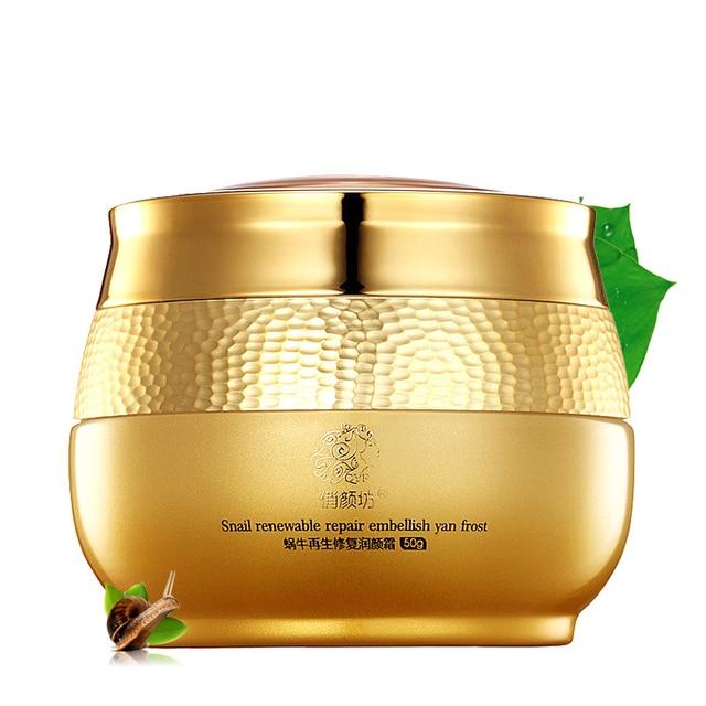 1pcs Snail Essence Renewable Repair Cream Face Care Treatment Scars Removal Moisturizing Anti-Wrinkle Face Cream Embellish