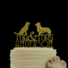 Gold Glitter cake topper Mr And Mrs Wedding Cake Toppers Custom Wedding Cake Toppers Unique Wedding Cake Toppers Personalized