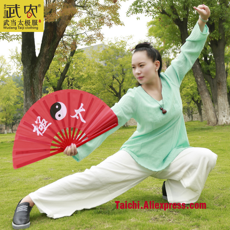 Wudang Tai Chi Clothing And Linen Female Clothes Tai Chi Uniform Wushu Kung Fu Training Suit  Jacket+pants painted handmade linen tai chi uniform taijiquan female clothing summer short sleeved wushu kung fu jacket pants