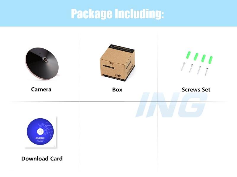 Image 5 - H.265 オーディオフィッシュアイ HD 3MP IP カメラ 1296 P/1080 P パノラマ LED  セキュリティナイトビジョン ONVIF CCTV ビデオ監視カムシステム    グループ上の  セキュリティ