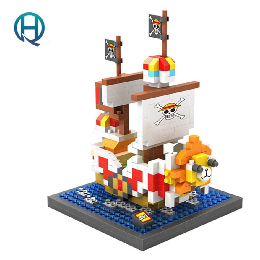 <font><b>Mini</b></font> Nano Blocks <font><b>ONE</b></font> <font><b>PIECE</b></font> LOZ Building Blocks <font><b>THOUSAND</b></font> <font><b>SUNNY</b></font> <font><b>Action</b></font> Figure Diamond Blocks Compatible Legoelieds 9829