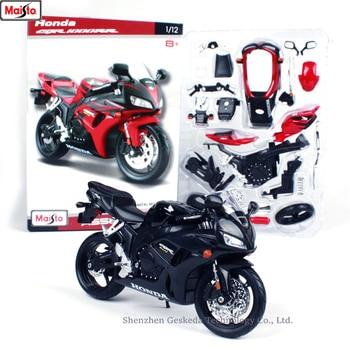 цена на Maisto 1:12 Honda CBR1000RR assembled alloy motorcycle model motorcycle model assembled DIY toy tools