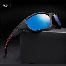 ASOUZ 2019 new mens polarized sun fashion UV400 ladies sunglasses classic brand design sports driving eye protection