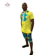 Новая мода Для мужчин S комплект футболка комплект 6XL брендовая одежда Для мужчин s футболка Шорты для женщин + короткие штаны Для мужчин Летний тренировочный костюм Для мужчин Повседневное WYN26