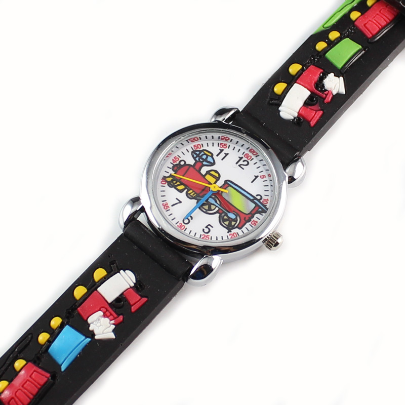 New Fashion Kids Watch 3D Wrist Watch Funny Cartoon Party Watches Children  (50 Pieces)