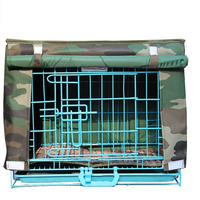 Trwałe Stałe Wodoodporne Oxford Pokrywa Oddychająca Koc Kennel Dom Pies Paka Dla Psów Crate Cage Drutu 7 Kolor Dostępny