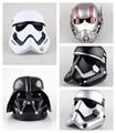 1pcs/set Star Wars COS Mask Helmet Black Series Darth Vader Ant-Man Stormtrooper Halloween 22cm Action Figure Model