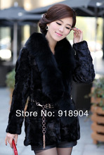 Free Shipping New Natural Real Luxury Genuine Mink Fur Coat Women's Big Mink Fur Jacket Winter Fur big size 4XL