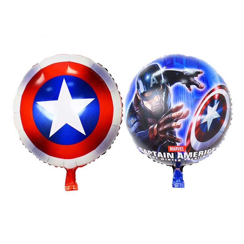 Captain America Birthday Balloons