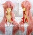 Free Shipping New Future Diary Mirai Nikki Gasai Yuno Cosplay Women's Wig wigs
