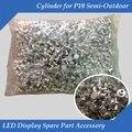 Из светодиодов панель дисплея запчасти аксессуар цилиндр для P10 и P16 полу-открытый одного и двухцветный из светодиодов модуль