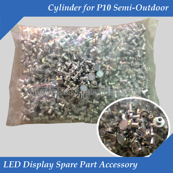 LED Display Panel Spare Part Accessory Cylinder For P10 And P16 Semi-outdoor Single&dual Color Led Module