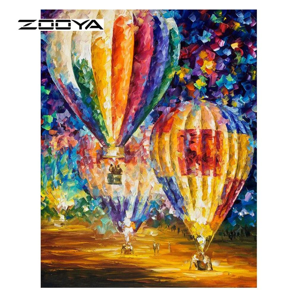 ZOOYA Hot Diy יהלום ציור 5D סט רקמה חוצה רקמה - אומנויות, מלאכת יד ותפירה