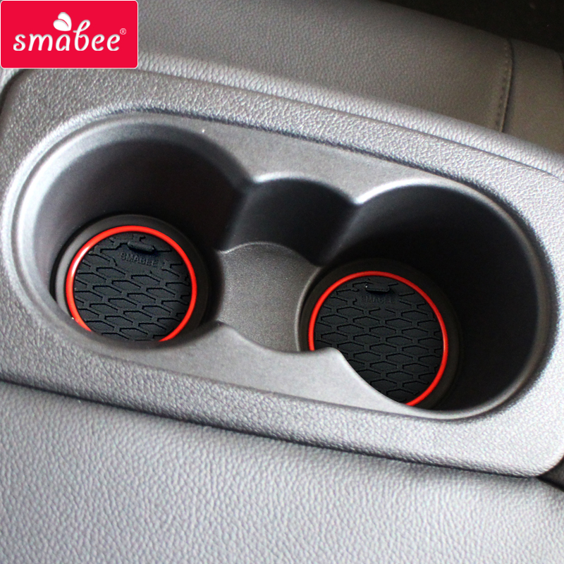 Smabee Gate Slot Mats For Kia Optima 2016 ~ 2019 Jf Sw 2017 2018 4th Gen Mk4 K5 Rubber Cup Holders Non-slip Mats Accessories Back To Search Resultshome