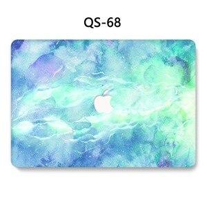 Image 4 - Для ноутбука MacBook Чехол для ноутбука рукав для MacBook Air Pro retina 11 12 13 15,4 дюймов с защитой экрана крышка клавиатуры