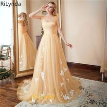 Женское вечернее платье цвета шампанского длинное без рукавов