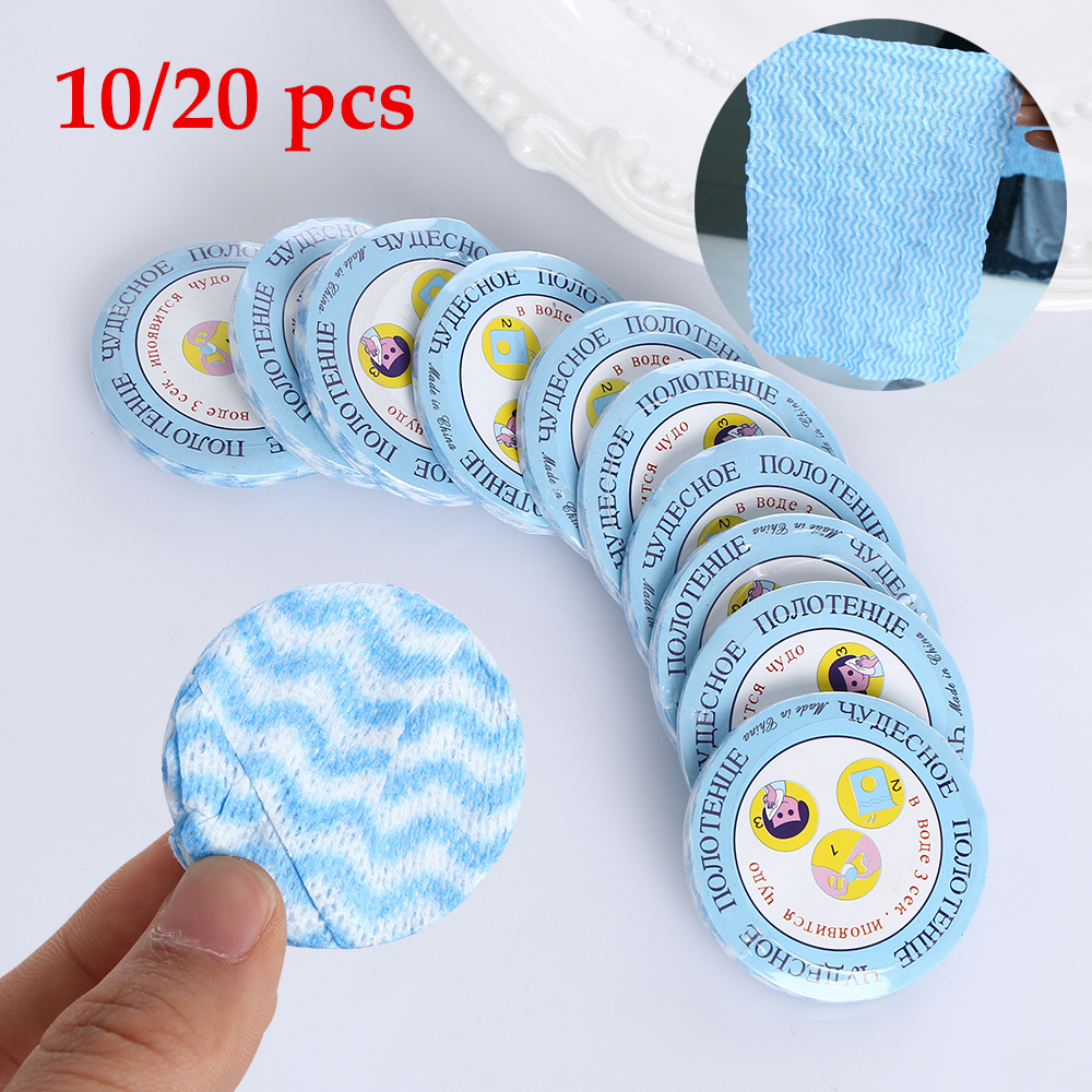 Compressed Disposable Compact Cloth Towel Travel Camping Surface /& Face Cloth RD
