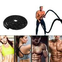 1pc Fitness Training Rope Sport hit rope battle fitness rope for arm muscle training body strength training Gym Equipment HWC