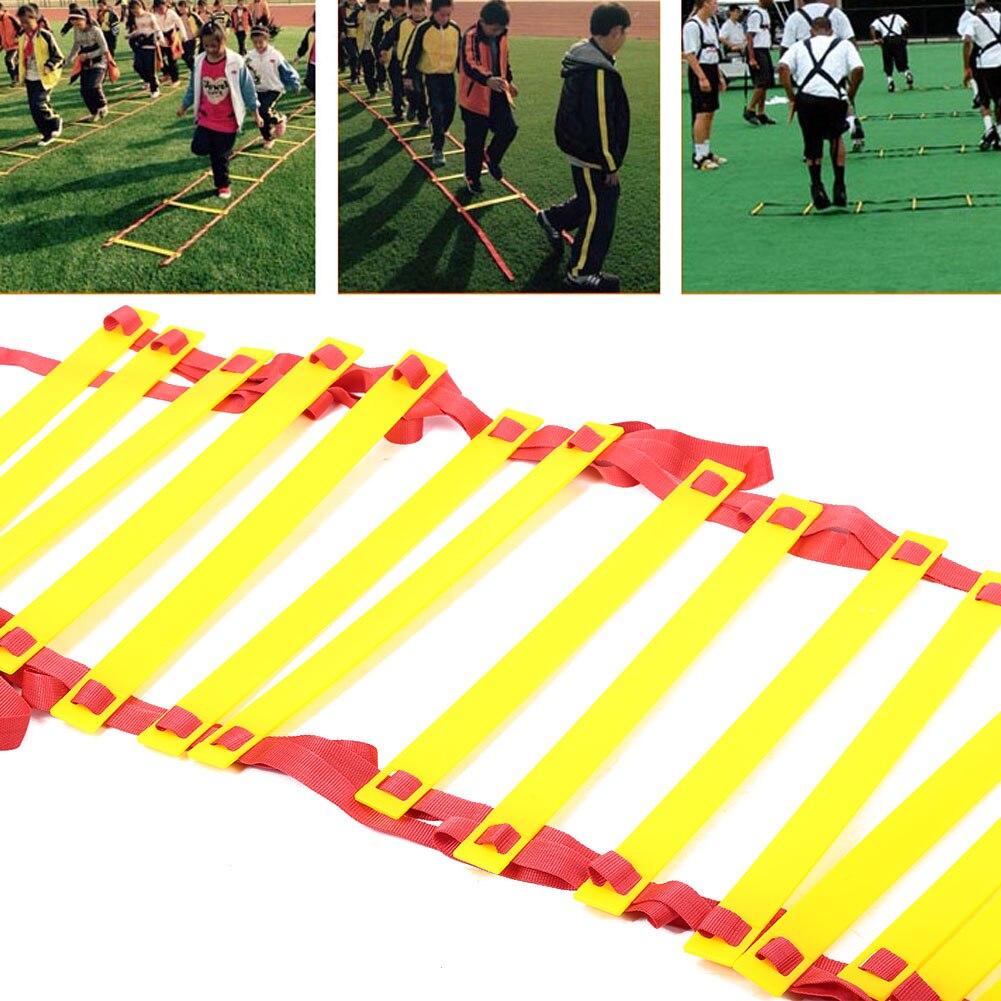 Exercice de Football Durable 8 M 16 échelle d'entraînement d'agilité de vitesse de marche