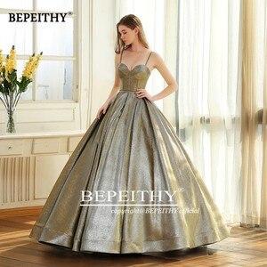 Image 4 - Abendkleider Sweetheart odblaskowa suknia balowa suknia wieczorowa 2020 Vestido De Festa długość podłogi Vintage suknie wieczorowe