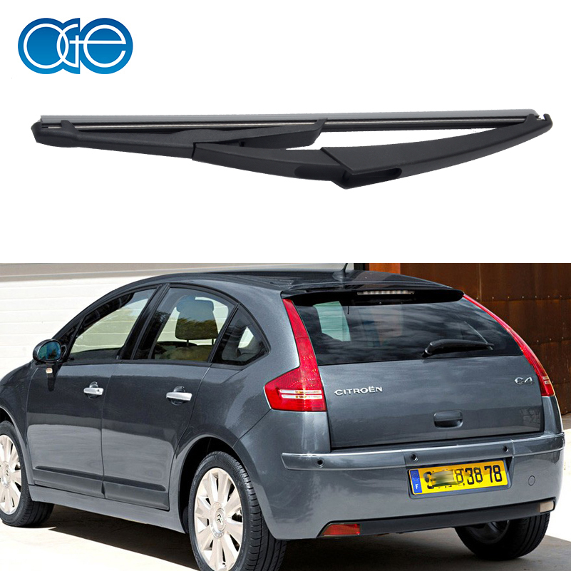 купить 12'' Rear Wiper Blade No Arm For Citroen C4 5-Door Hatchback 2004-2010 Windscreen High Quality Rubber Windshield Car Accessories по цене 522.9 рублей