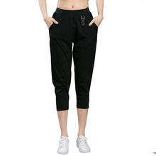 Plus Size Woman Harem Capris Pants 2017 Summer New Brand Calf-Length Trousers Female Casual Loose Pant